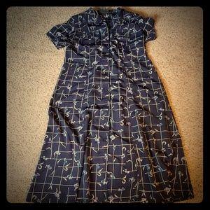 Plus Lane Bryant Maxi shirt dress